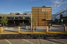 Violet Crown Cinema Outdoor Plaza