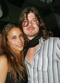 Pin for Later: Flashback to When These Famous Couples Went Public For the First Time Paula Patton and Robin Thicke in 2002