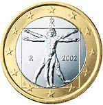 1 euron kolikon kansallinen puoli