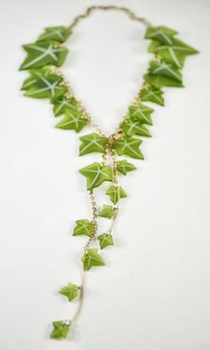 Ivy vines necklace, edenandeden.com