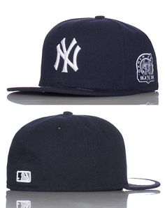 efaa46222ecb9 NEW ERA Derek Jeter 3000 patch Fitted cap Contrasting colors Embroidered NY  logo on front Fifty Nine Fifty