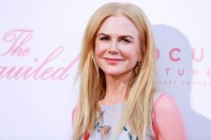 Nicole Kidman Goes for Romance Again in Carolina Herrera at The Beguiled Premiere