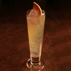 One-Two Punch: Smoky Scotch whisky is the unexpected base for this fruity and fizzy beer punch.