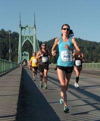 Portland Marathon #pdxmarathon #portland #oregonmarathons #stjohnsbridge