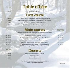 a la carte dining | design ideas 2017-2018 | pinterest | menu and
