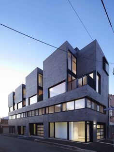 Fifty-one projects recognized at the 2014 Victorian Architecture Awards. Architecture Awards, Commercial Architecture, Facade Architecture, Residential Architecture, Modern Townhouse, Townhouse Designs, Mix Use Building, Building Design, Building Facade