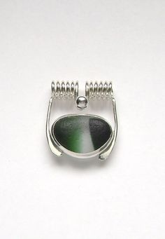 Sea Glass Jewelry  Sterling Rare Victorian by SignetureLine, $80.00