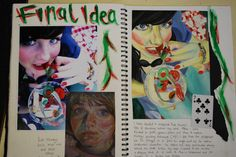 Final Ideas developed from research into Alice in Wonderland Art Lessons, Sketch Book, College Art, Visual Journal, Book Inspiration, Art, Sketchbook Journaling, Best Sketchbook, Art Journal