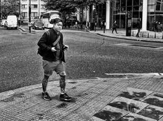 Day 104 - crossing the road