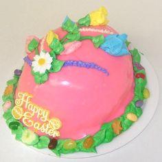 Easter egg cake by Mueller's Bakery!