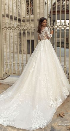 Greek Wedding Dresses, Sheer Wedding Dress, Wedding Dress Gallery, Beautiful Prom Dresses, Wedding Dress Sleeves, Designer Wedding Dresses, Bridal Dresses, Lace Wedding, Fairytale Bridal