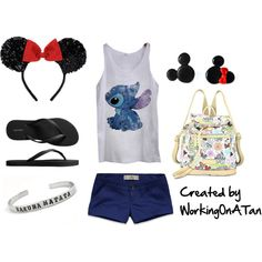 My Disney Side. Cute outfit for WDW but the shorts need go be longer!