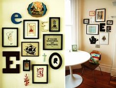 I love the diversity in these wall art collections.