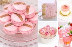 15 blume mazipan ess hochzeit rosa kuchen cupcake Hochzeitsfarben Romantisch– Hochzeit in Rosa Inspiration