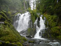 National Creek Falls on the Rogue River, southern Oregon
