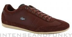 Lacoste Misano 19 SRM Mens Trainers Dark Tan