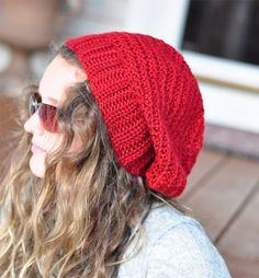 This slouchy beanie is warm, soft and extra roomy for a very cool hip look. Very comfortable accessory for Fall and Winter. It pairs beautifully with