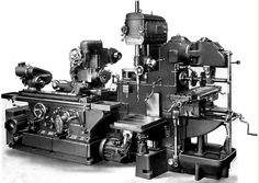 Adcock and Shipley Ryder combination machine.