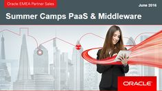 Summer Camps PaaS & Middleware – free partner trainings 2016