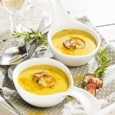 Carrot Curry Coconut Soup