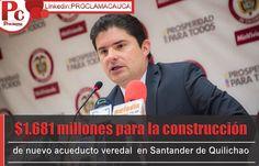 Más anuncios: $1.681 millones fueron aprobados por Minvivienda para la construcción de nuevo acueducto veredal y optimización de planta de tratamiento en Santander de Quilichao, Cauca [http://www.proclamadelcauca.com/2014/09/mas-anuncios-1-681-millones-fueron-aprobados-por-minvivienda-para-la-construccion-de-nuevo-acueducto-veredal-y-optimizacion-de-planta-de-tratamiento-en-santander-de-quilichao-cauca.html]