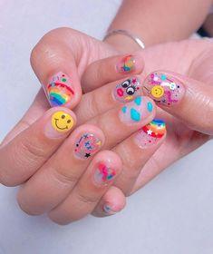nail art designs hansen magical nail makeup inc nail makeup art makeup design inc nail makeup brush nail designs airbrush makeup makeup tutorial makeup tutorial Aycrlic Nails, Neon Nails, Cute Acrylic Nails, Hair And Nails, Bling Nails, Pastel Nails, Stiletto Nails, Nail Swag, Nailart