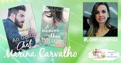 O primeiro #LdMEntrevista de 2017 está no ar! Vejam no Literatura de Mulherzinha o que Marina Carvalho falou sobre seus lançamentos mais recentes, o conto Ao Gosto do Chef e o livro A menina dos olhos molhados: http://livroaguacomacucar.blogspot.com.br/2017/02/ldm-entrevista-marina-carvalho.html