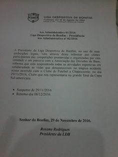 NONATO NOTÍCIAS: PRESIDENTE DA LDB BAIXA ATO ADMINISTRATIVO  EM SOL...