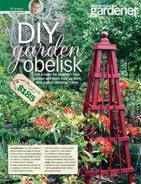 DIY Garden Obelisk www. DIY Garden Obelisk www. Small Garden Arbour, Garden Arbor, Diy Garden, Garden Trellis, Garden Landscaping, Landscaping Ideas, Homestead Survival, Survival Tips, Outdoor Projects