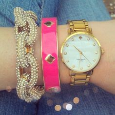 Kate Spade arm candy - well it's Kate Spade, enough said.