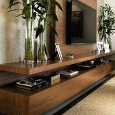 47 amazing ideas and designs for DIY entertainment centers for your new home . - 47 amazing ideas and designs for DIY entertainment centers for your new home - Tv Wall Design, House Design, Home Living Room, Living Room Decor, Bedroom Decor, Tv Wall Cabinets, Modern Tv Wall Units, Living Room Tv Unit Designs, Tv Wall Decor