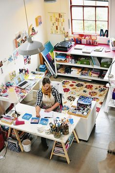 design is mine : isn't it lovely?: INTERIOR INSPIRATION : STUDIO SPACES.