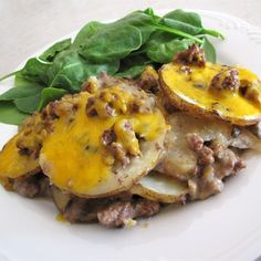 "Hamburger Potato Casserole | ""This was an easy great tasting meal. No leftovers here."""