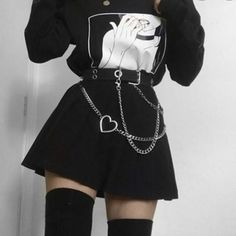 Vida You are in the right place about grunge goth weird Here we offer you the most beautiful picture Edgy Outfits, Cute Casual Outfits, Grunge Outfits, Pretty Outfits, Girl Outfits, Scene Outfits, Egirl Fashion, Grunge Fashion, Fashion Looks