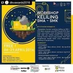 #Repost @dkvawards2016 with @repostapp  Hai teman-teman...