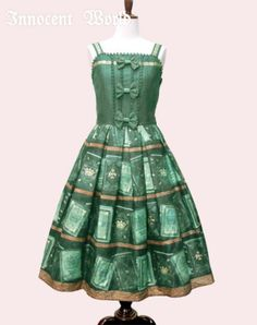 Innocent World ストラホフ図書館リボンジャンパースカート
