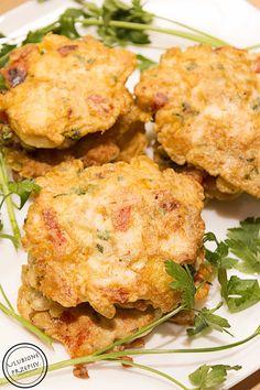 Kotleciki z piersi z kurczaka z papryką, pieczarkami i serem żółtym – Ulubione przepisy