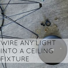 HOW TO WIRE A CEILING LIGHT