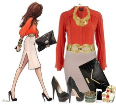 """""""Headed to Court to fight My Traffic Ticket :)"""" by natasha-gayden on Polyvore"""