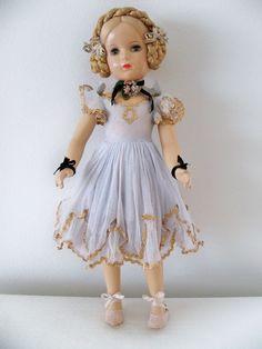 "Vintage 1940'S Madame Alexander Composition Karen Ballerina Doll Rare 18"" #DollswithClothingAccessories"