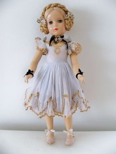 "Vintage 1940'S Madame Alexander Composition Karen Ballerina Doll Rare 18"" #DollswithClothingAccessories"