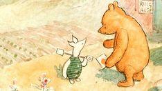 In honor of everyone's friend, Winnie the Pooh