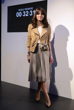 Sweet Home a la Moda: La falda plisada muy lady!