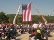 NEWPORT, NH - Aug. 24, 2013: Ride for the Fallen benefits the Justin Rollins Memorial Scholarship Fund.