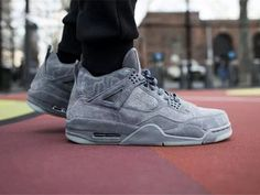 online store 2b4ed 3b40d KAWS x Air Jordan 4 Cool Grey Men Shoes AAAAA,Price  119 Air Jordan