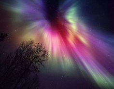 Aurora B - or Northern Lights ... LOVE the colors.......Magical!