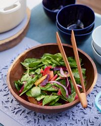 Smoked mackerel salad with crunchy vegetables recipe smoked christmas dinner side dishes forumfinder Image collections