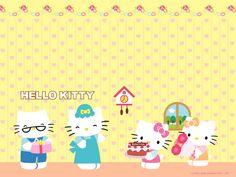 凱蒂貓 - 你好,貓咪壁紙