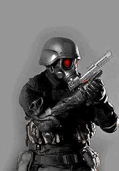 Resident Evil Hunk, Fictional Heroes, Evil Art, Arte Cyberpunk, Sci Fi Armor, Futuristic Art, Sailor Mercury, Black Ops, Special Forces