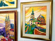 Na hrade (Pohľady na Nitru VII.) 50 x 40 cm, akryl na plátne, www.turzak-art.sk, #nitra #obrazynitry #turzakart #nitrianskyhrad Painting, Art, Craft Art, Paintings, Kunst, Gcse Art, Draw, Drawings, Art Education Resources